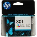HP CARTUCCIA ORIGINALE 301 COLORI 9ML CH562EE